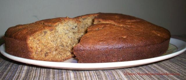 Nadia's Date and Honey Cake