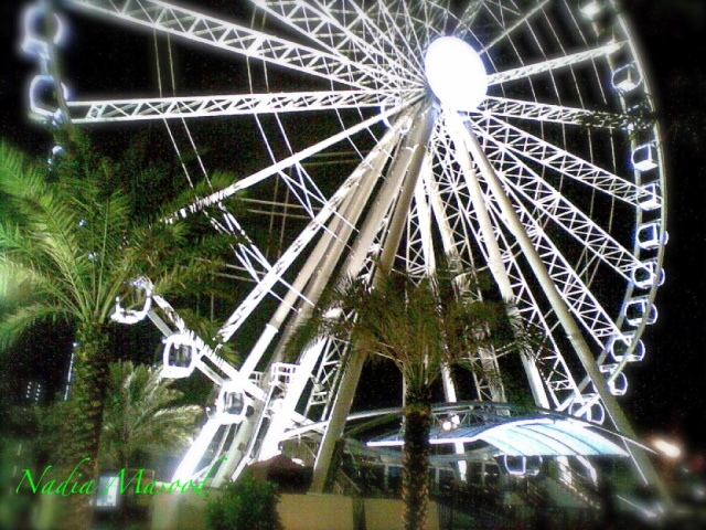 The Eye of Emirates in Al Qasba, Sharjah