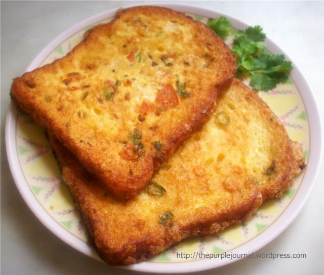 Mushtaq's Bread Omelette