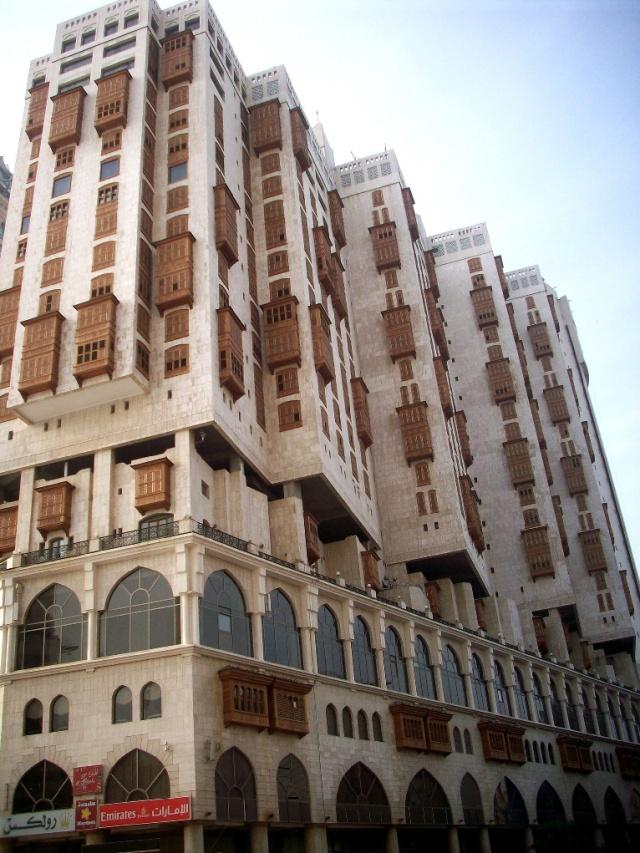 A hotel facing Masjid al Haram