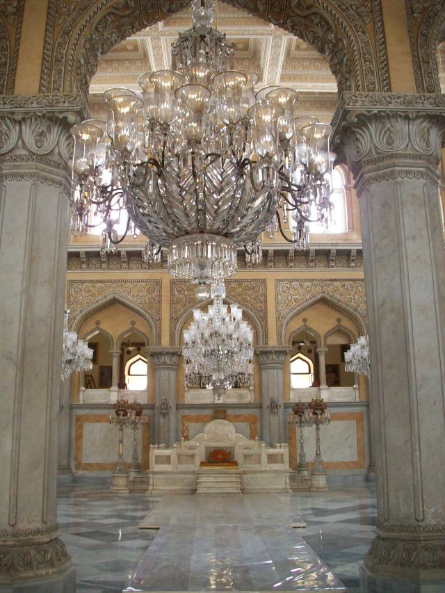 Takht-e-Nishan (Royal Seat) in Durbar Hall