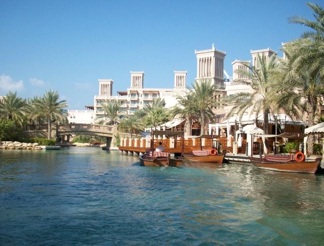 Sailing through madinat jumeirah the purple journal for Top 100 hotels in dubai